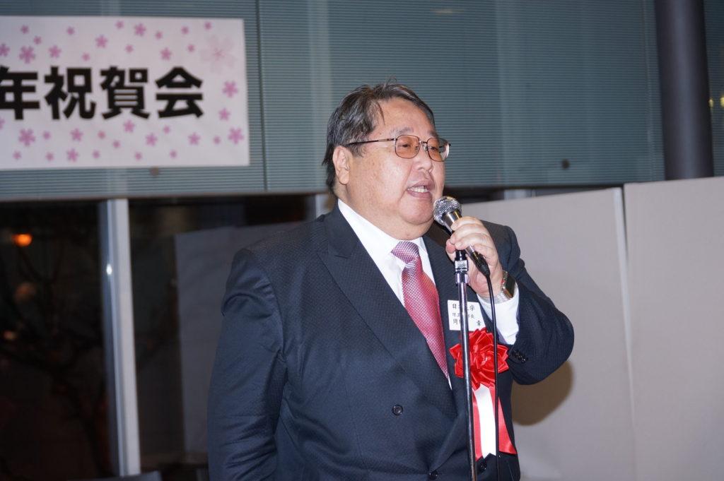 岡田理工学部長スピーチ